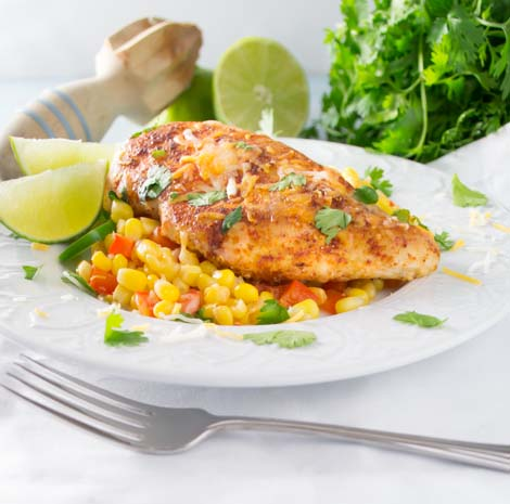 Mexican Chicken Skillet Dinner-4