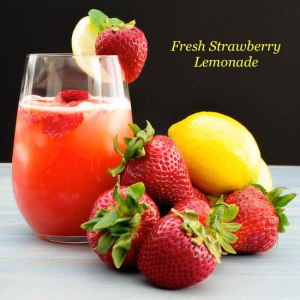 Strawberry Lemonade | Pick Fresh Foods