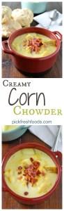 Corn Chowder Collage