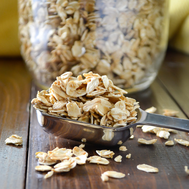 Granola Recipe Maple Syrup