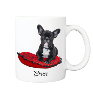 Custom Dog Mug, Personalised with your dog's photo and name