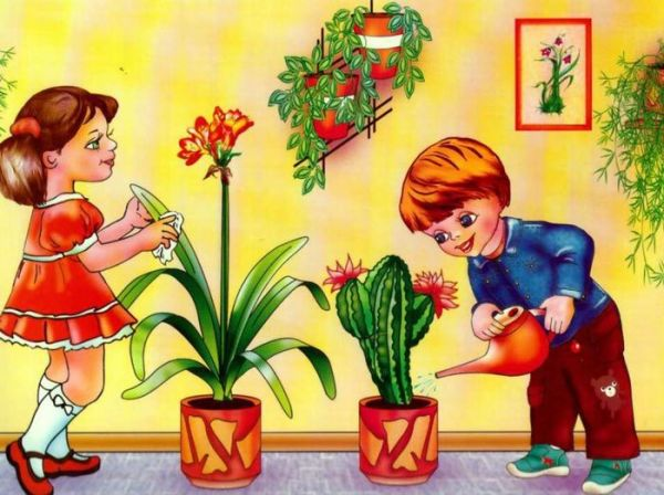 Живой уголок в школе картинки и детские рисунки.