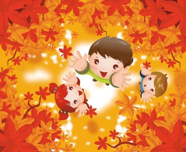 Осенние картинки для оформления в детском саду