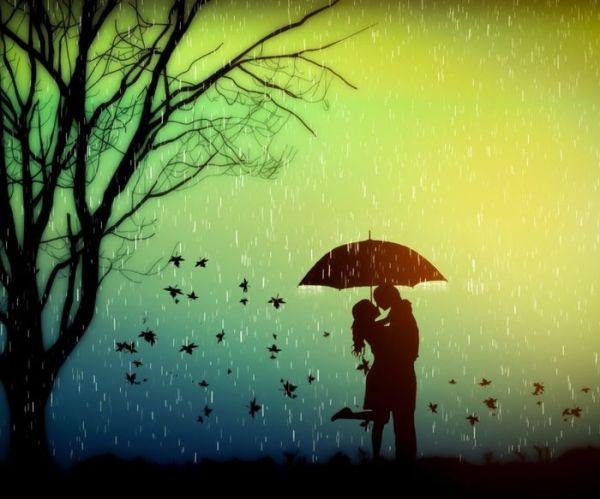Красивые картинки про осень и любовь