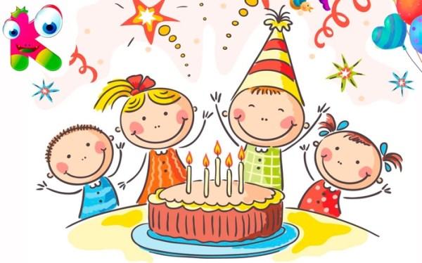 Картинки с днем рождения детские