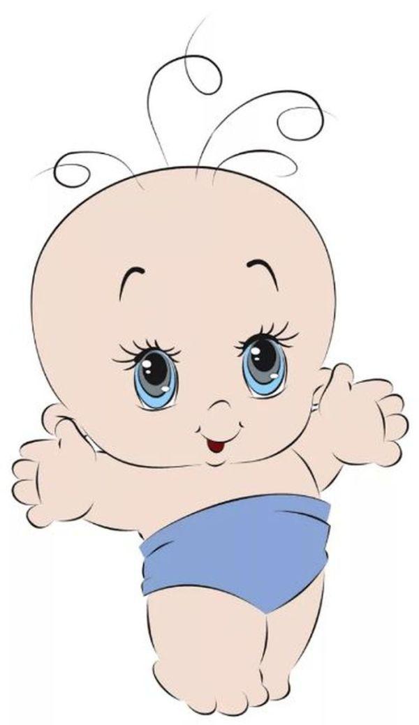Рисунки новорожденных малышей