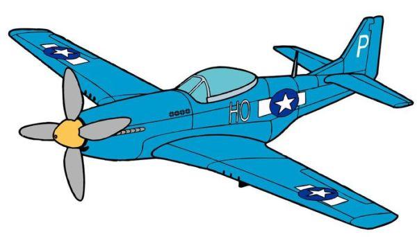Военный самолет рисунок для детей карандашом