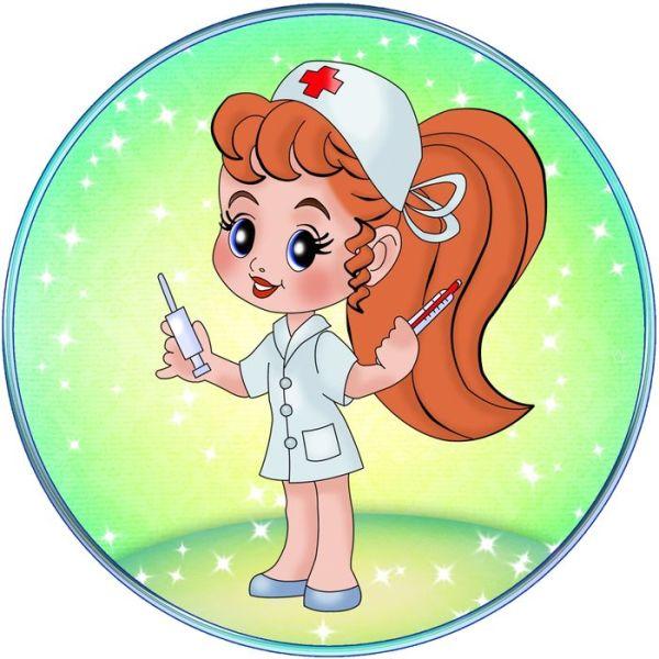 Картинка медсестра в детском саду для детей