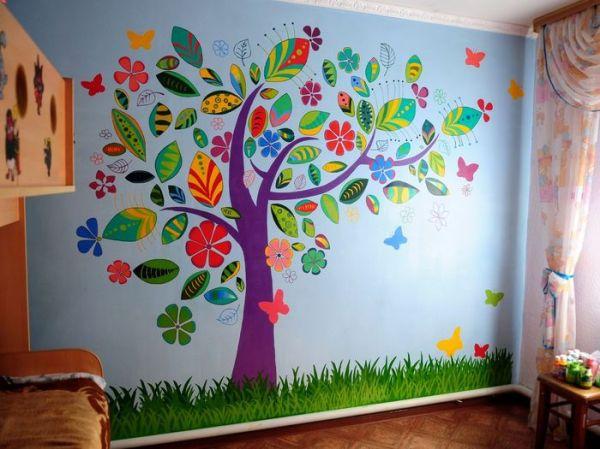 Детские картинки для оформления стен в детском саду