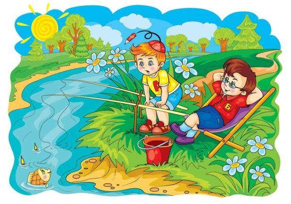 Картинки о лете для детского сада