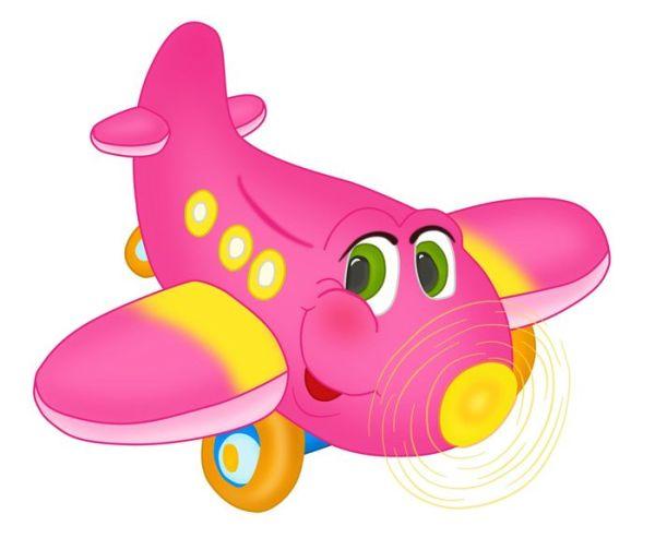 Самолет - детские рисунки и картинки для детского сада