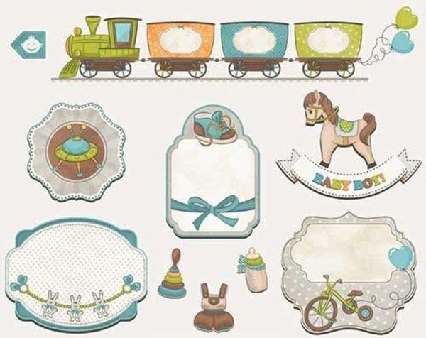 Детские картинки для скрапбукинга для распечатки цветные
