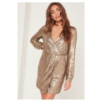 missguided-gold-dress