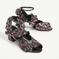 Ruffle Shoes