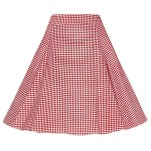 Collectif Tammy Gingham Skirt