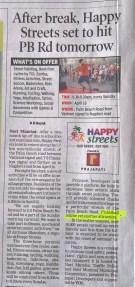 The Times of India Navi Mumbai, date April 15, 2017