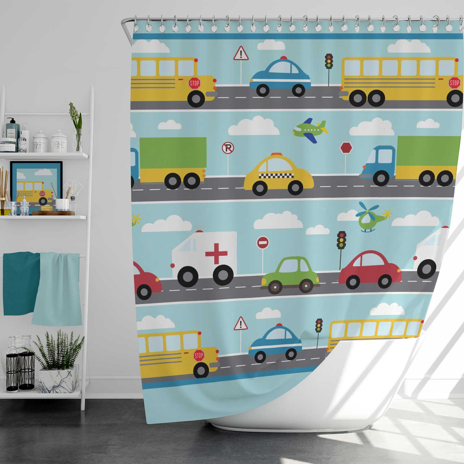 things that go vroom kids personalized