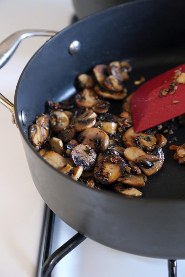 mushrooms caramelized