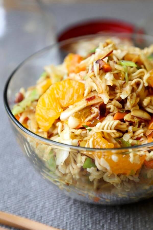 Ramen Noodle Coleslaw Recipe - Pickled Plum Food And Drinks