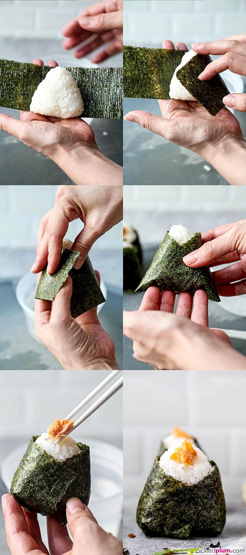 How To Make Onigiri - おにぎり- (26 Easy Recipes!)  Pickled Plum