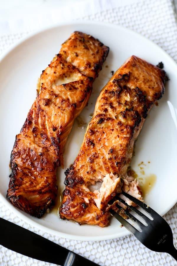 Air Fryer Salmon fillets