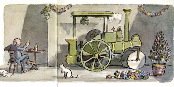 Unlikely Christmas: Graham Greene's The Little Steamroller ...