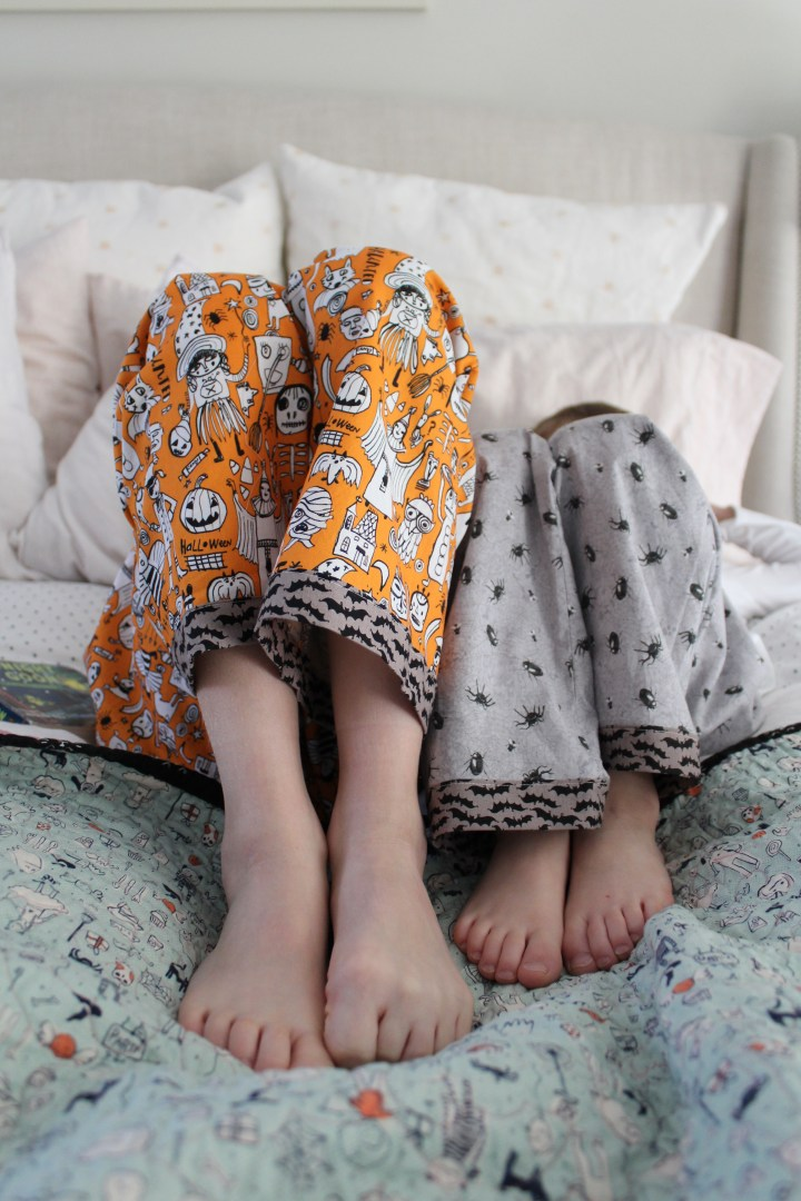 Halloween Oliver + s Pajama Pants