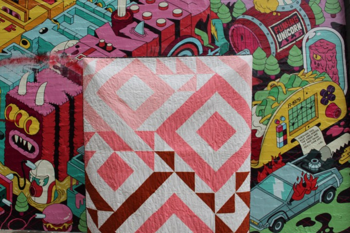 Ombre Triangle Jitters Quilt