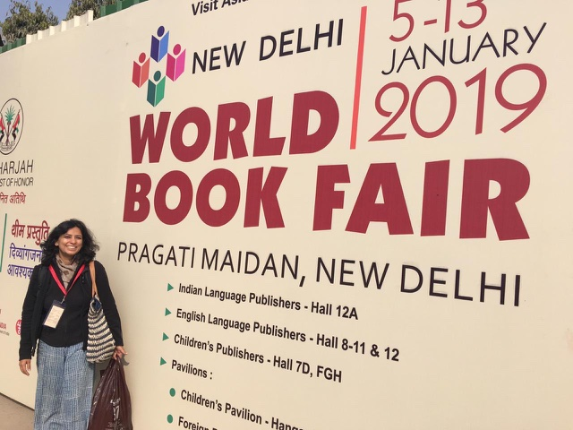 We Debut at the New Delhi World Book Fair 2019!