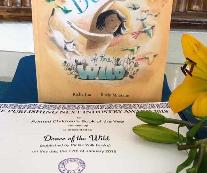 DANCE OF THE WILD wins at the Publishing Next Industry Award 2018!