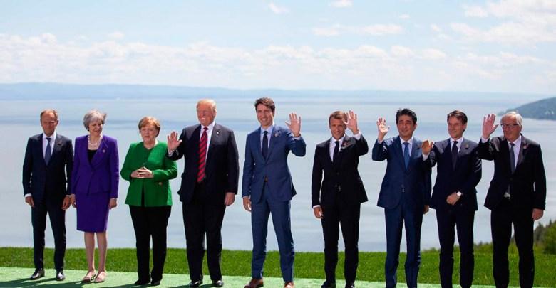 G7 Canada 2018 (Photo AFP / GEOFF ROBINS)