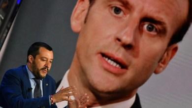 Macron Salvini