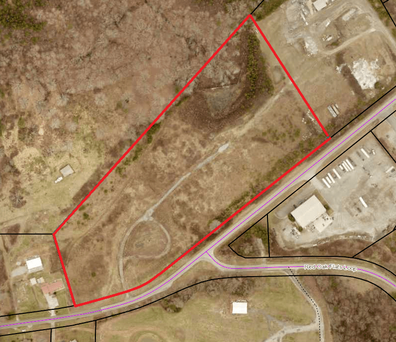 13.3 ac Zoned Industrial (parcel 098-332)