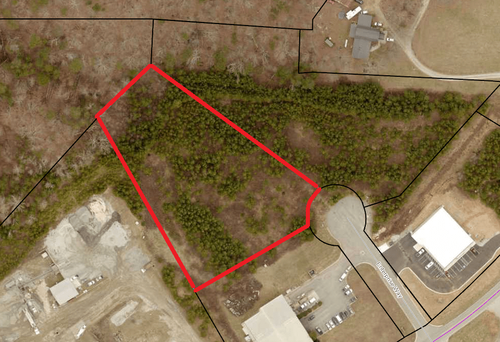 2.33 ac Zoned Industrial (parcel 098-329)
