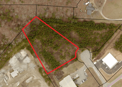2.33 ac Zoned Industrial