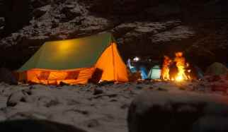 ridge tent or A frame tent