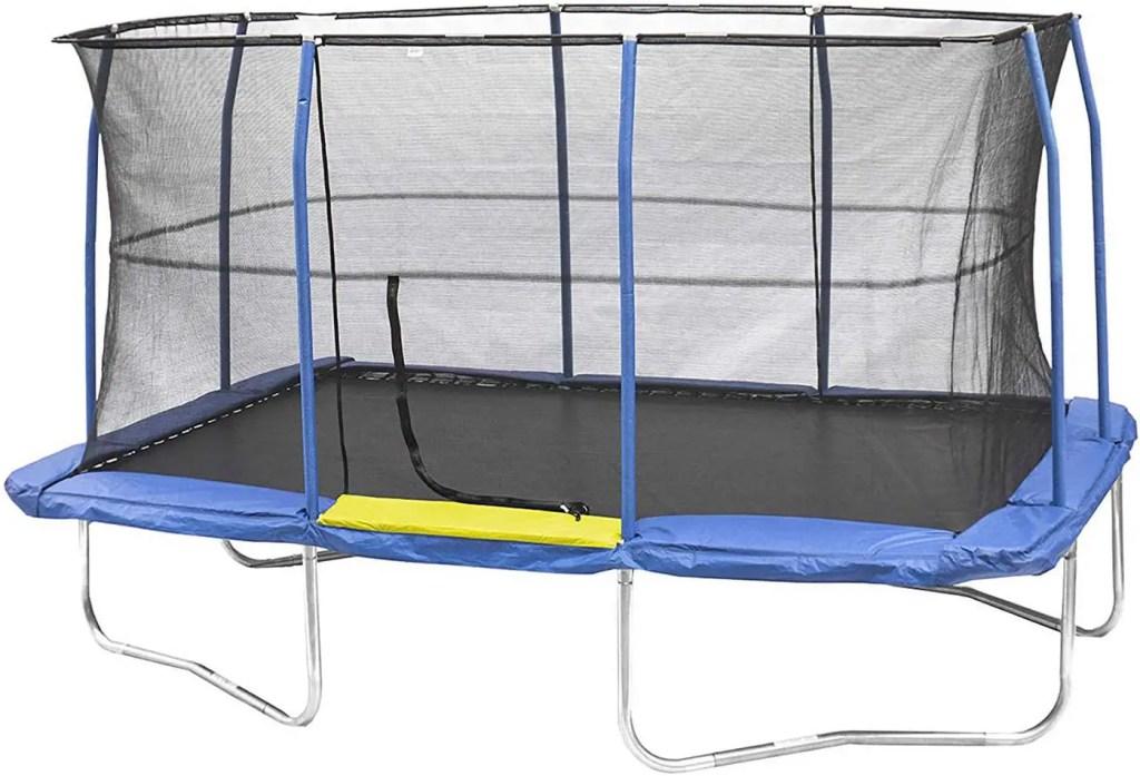JumpKing 10x 15 Ft Outdoor Rectangular Trampoline For Gymnasts