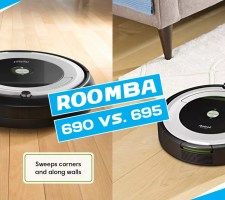 Roomba 690 vs 695