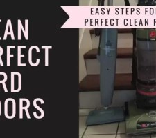 clean dog hair off hardwood floors
