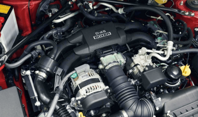2021 Toyota Hilux Engine
