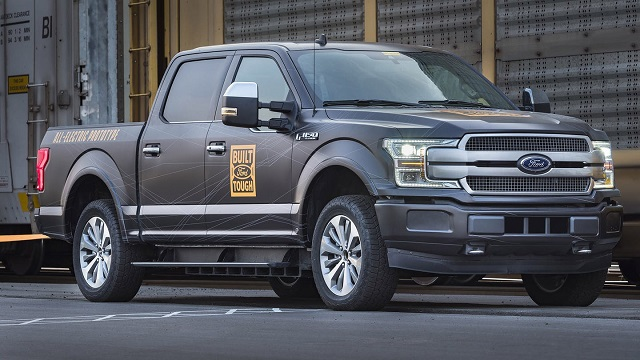 2020 Ford F-150 All-Electric and Hybrid Pickup Truck