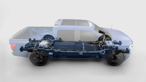 2023 Ford F-150 Lightning system