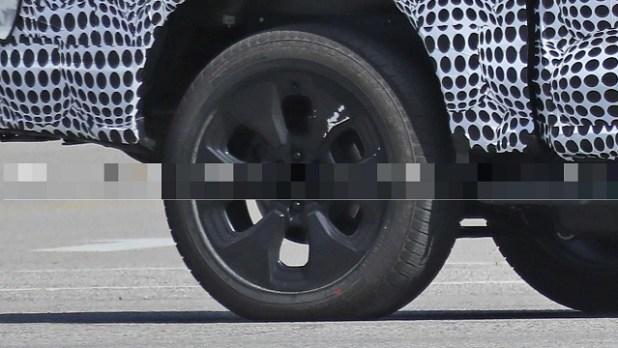 2023 Ford F-150 wheels
