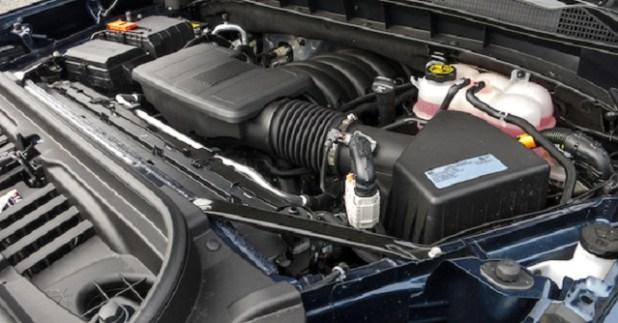 2023 GMC Sierra 2500HD engine