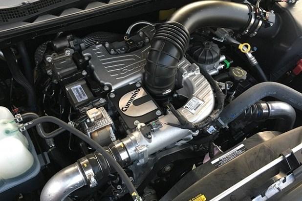 2022 Nissan Titan Diesel engine