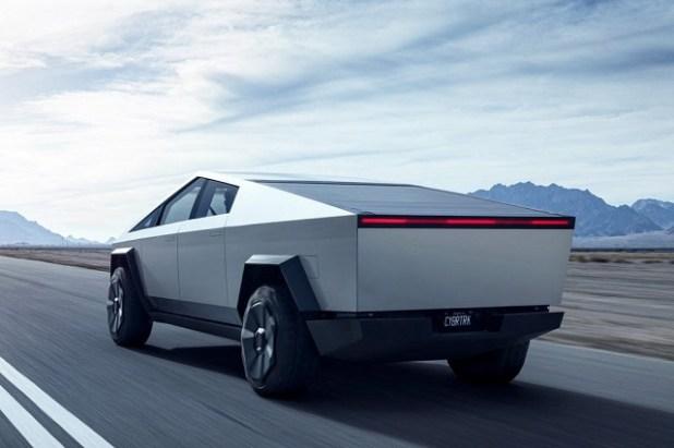 2022 Tesla Cybertruck rear