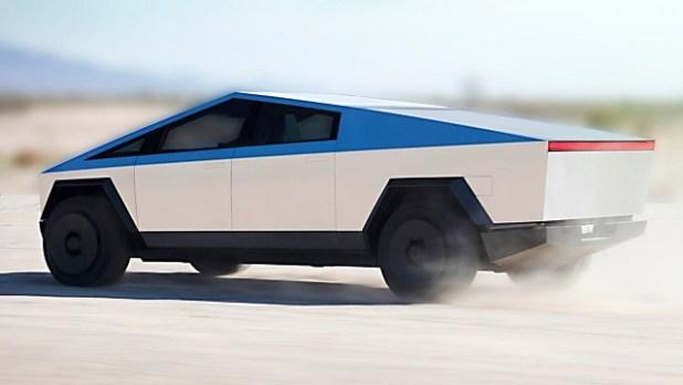 2022 Tesla Cybertruck side