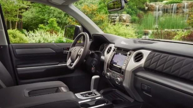 2022 Toyota Tacoma Diesel interior