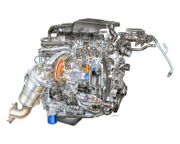 2023 GMC Canyon engine