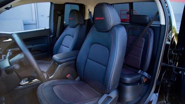 2022 GMC Syclone interior